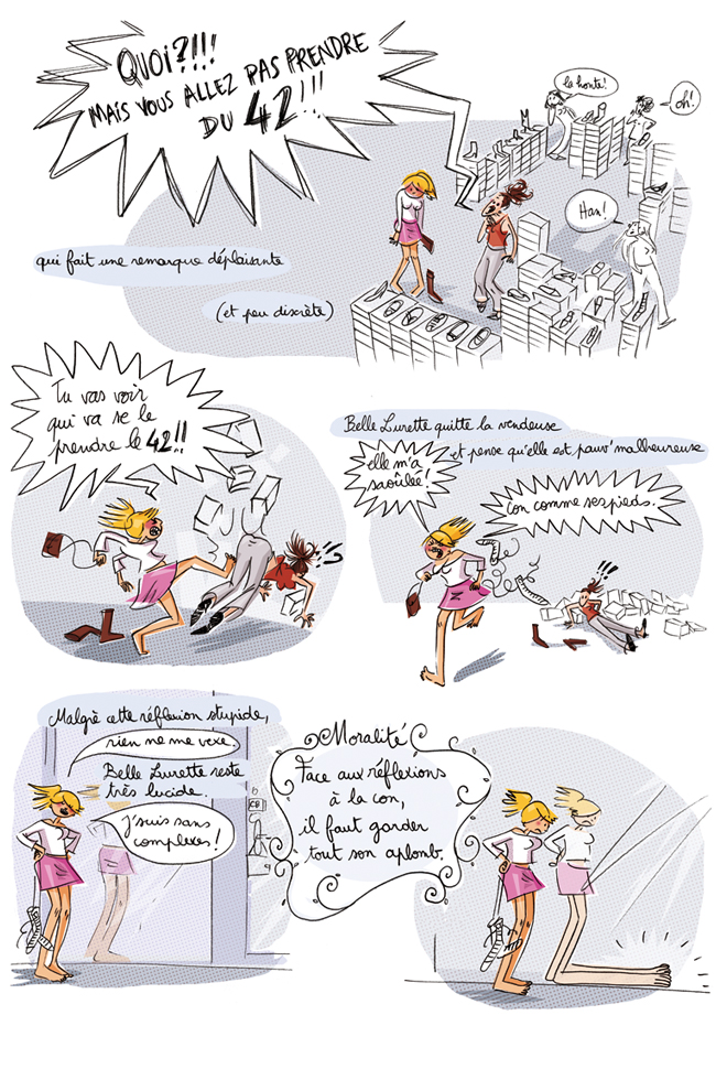 Les Fables de Belle Lurette // Éditions Glénat // Drugstore