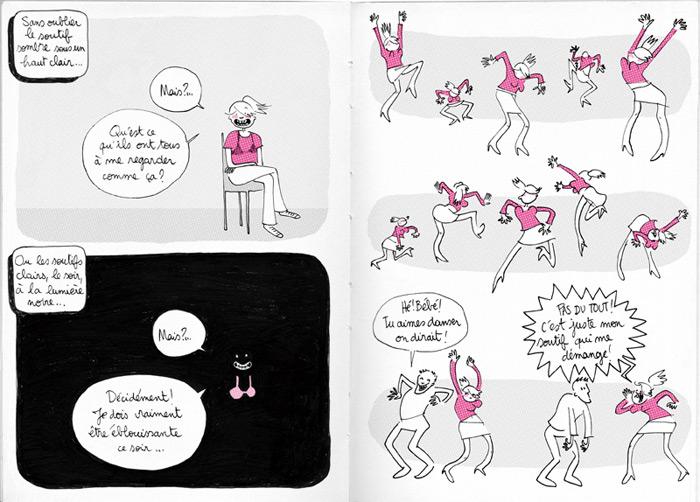 Des seins // éditions Le Cycliste